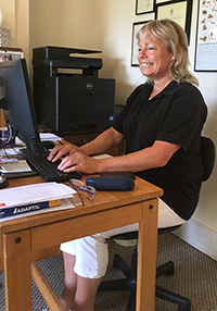 Hazel Maundrell - Receptionist